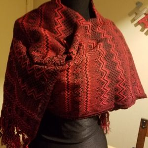 PONCHOS HANDCRAFTED MEXICAN   RECTANGULAR